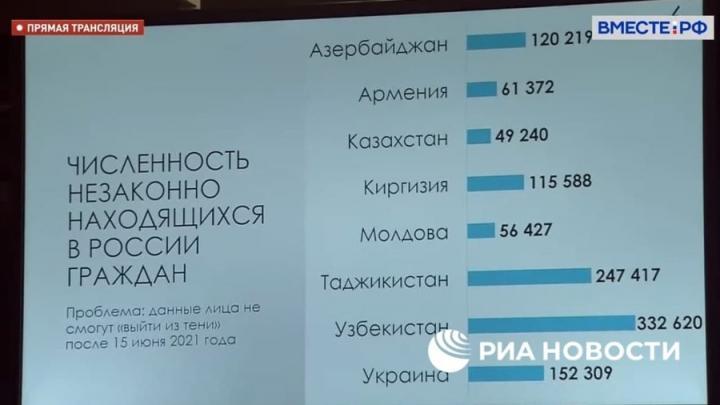 «Выдворить» нелегалов до 15 июня планируют в России