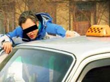 Совершено нападение на таксиста