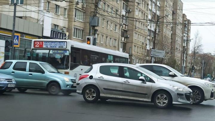 Светофор на Московской и Чапаева не могут починить уже третий день