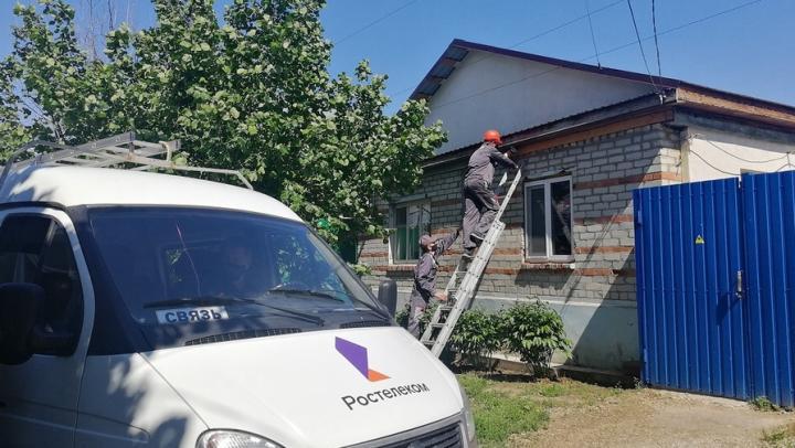«Ростелеком» провел в Хвалынск скоростной интернет