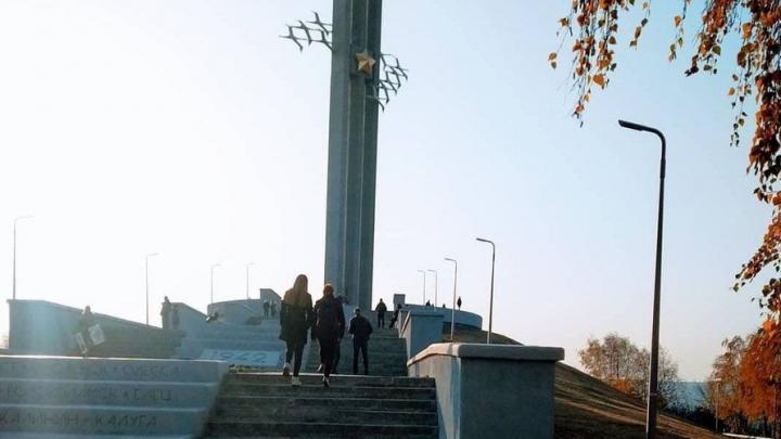 В Парке Победы в Саратове ремонтируют коммуникации