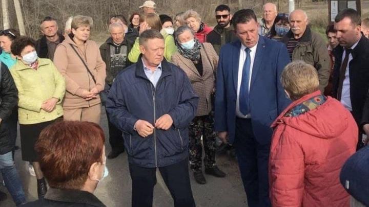 Николай Панков обсудил с жителями Зонального решение проблем поселка