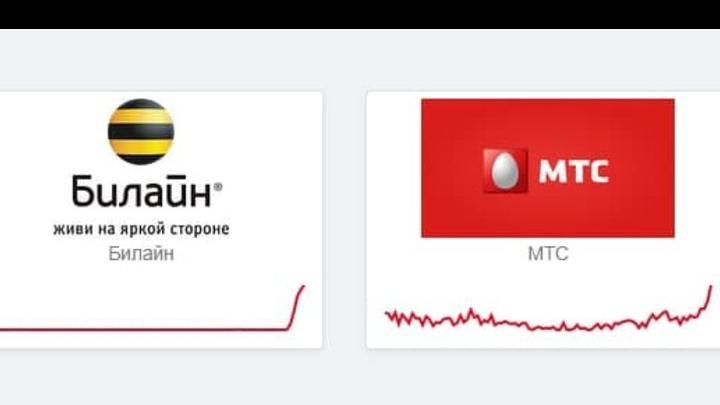 Пользователи «Билайн» и «МТС» пожаловались на плохую работу операторов