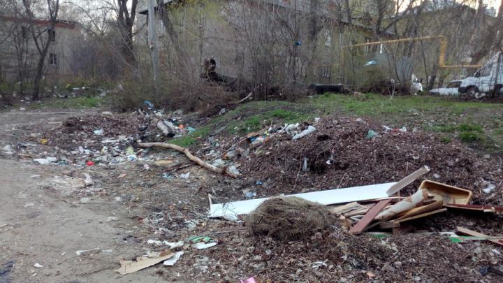 Свалка около роддома возмутила жителей Заводского района