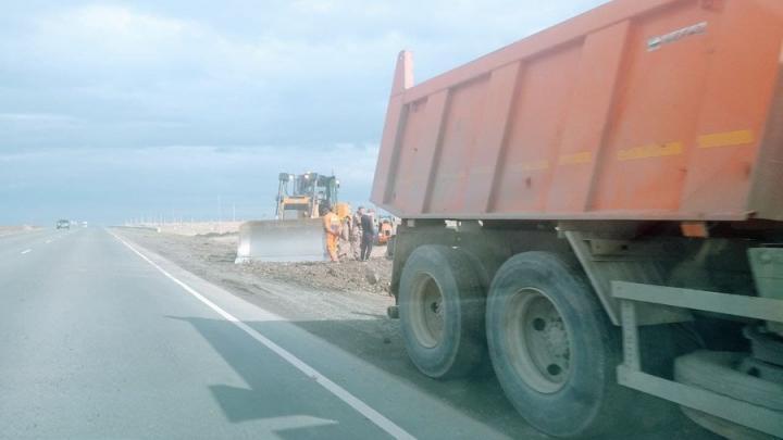 В Перелюбском районе отремонтируют восемь километров дороги до конца сентября