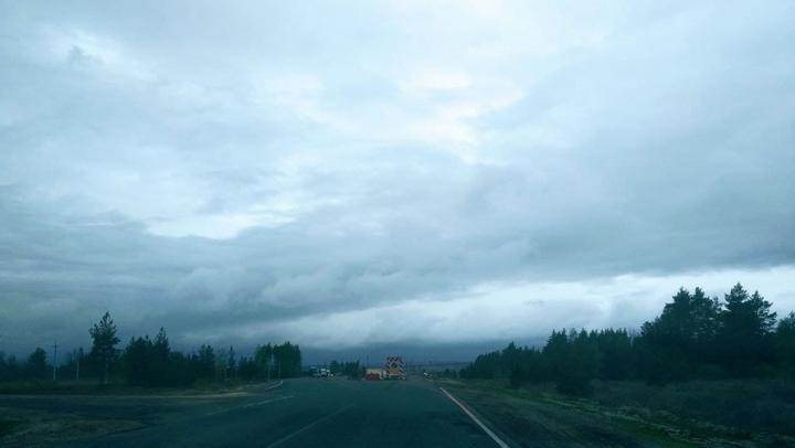 Пасмурно и местами грозы в Саратовской области