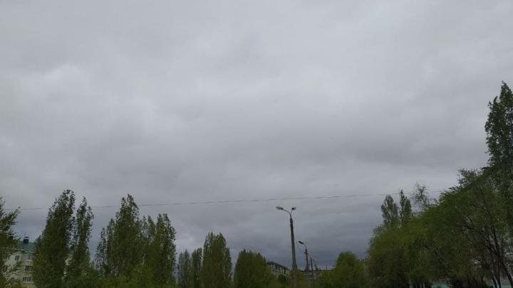 Дождь закончится, но весь день будет хмуро в Саратове