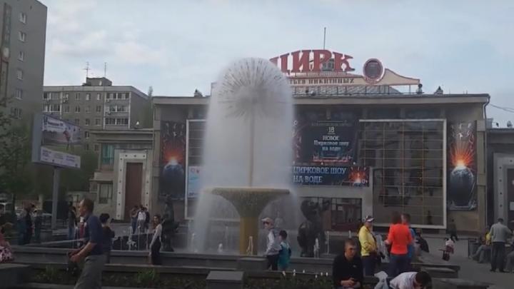 Фонтан «Одуванчик» в Саратове закрылся на реконструкцию до конца лета