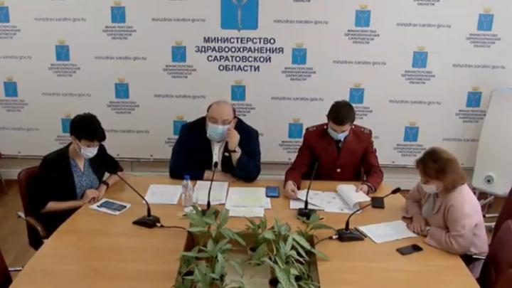 В Саратовской области есть случаи заражения ковидом среди вакцинировавшихся