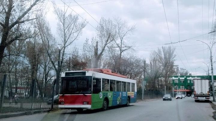 На мосту Саратов – Энгельс начинается ремонт троллейбусной сети за 50 миллионов рублей