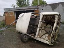 Угнанный автомобиль нашли разобранным в пункте приема чермета
