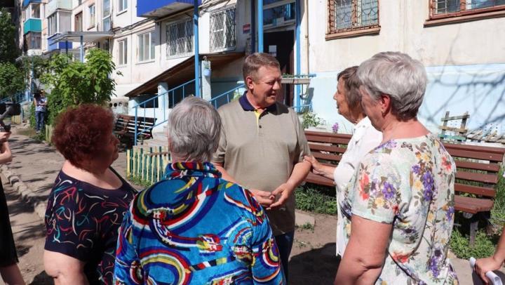 Николай Панков помог балаковцам добиться ремонта дворовых территорий