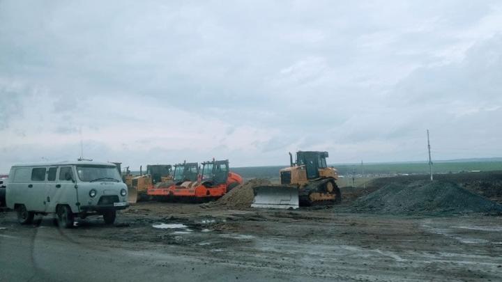 Между Пушкино и Мокроусом отремонтируют 15 километров дороги за 736 миллионов рублей