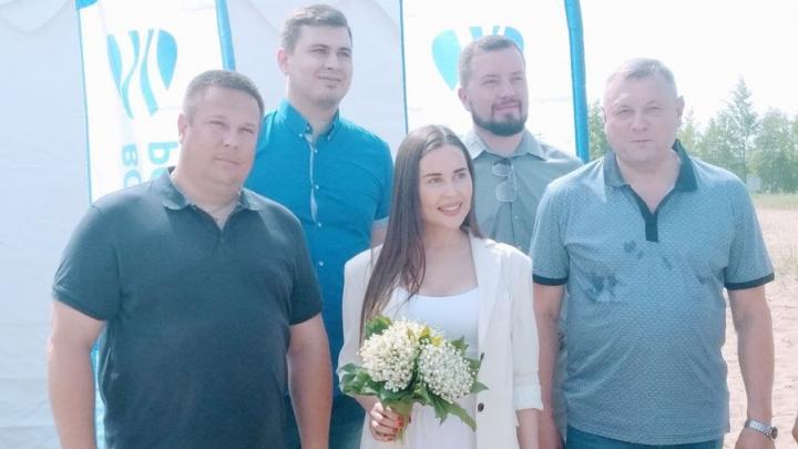 Акция «Вода России» стартовала на Городских песках в Саратове