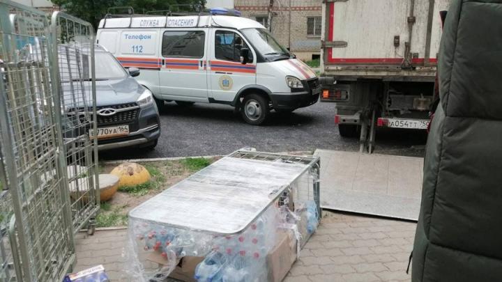 21-летнего грузчика придавило контейнером в Энгельсе