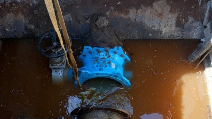 Отключение воды планируется на пяти улицах в Елшанке