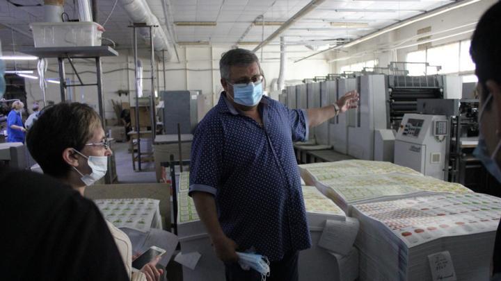 Сбербанк отметил День предпринимателя экскурсией на производство