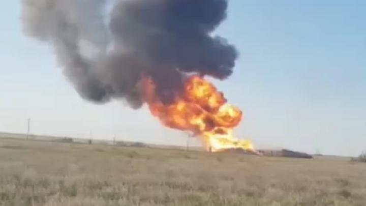 Трое рабочих пострадали от взрыва газопровода в Новоузенском районе