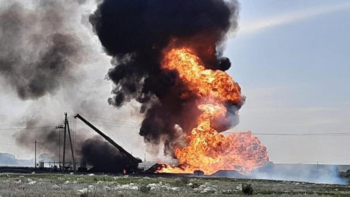 МЧС о взрыве в Новоузенском районе: газ будет гореть 3-4 часа