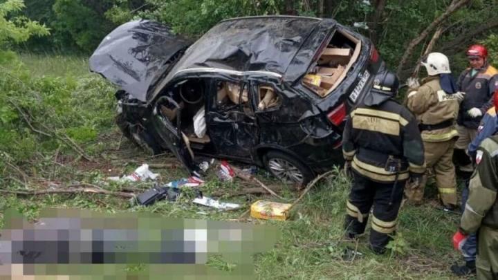 58-летний водитель BMW погиб в ДТП под Аткарском