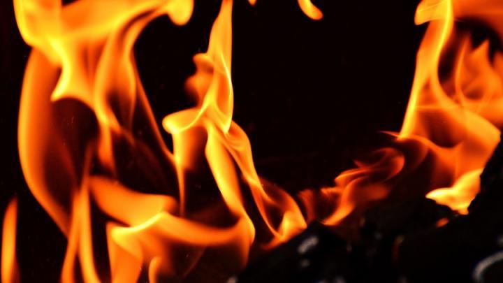 «Ока» сгорела в Советском районе