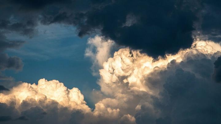 Дождь в Саратове усиливается