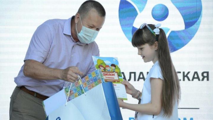Балаковская АЭС поздравила ребят с окончанием учебного года ярким фестивалем «ЭКО-лето»