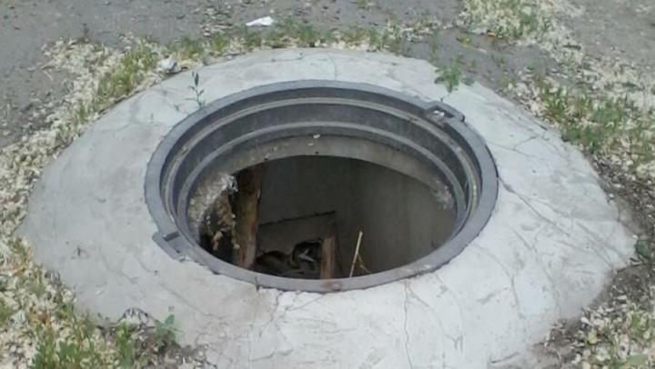 Администрация заметила открытый люк на Тульской улице