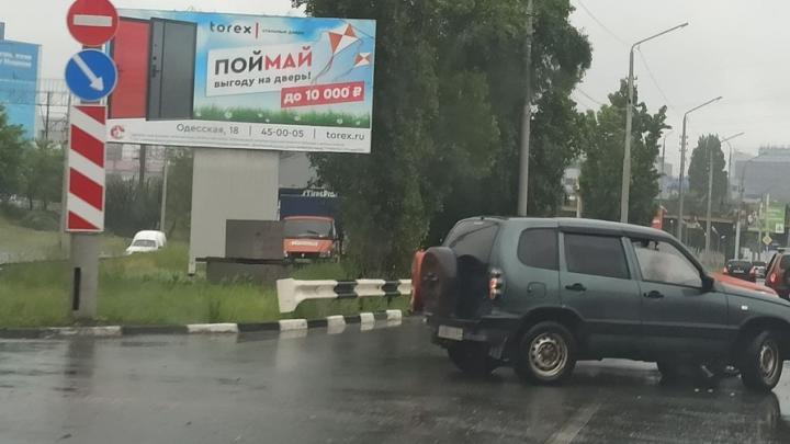 Тройная авария на Шехурдина в Саратове