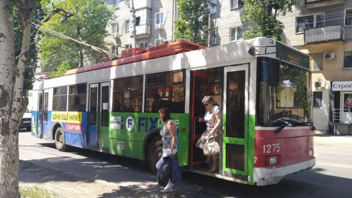 В Саратове не ходит троллейбус № 4 и три трамвайных маршрута