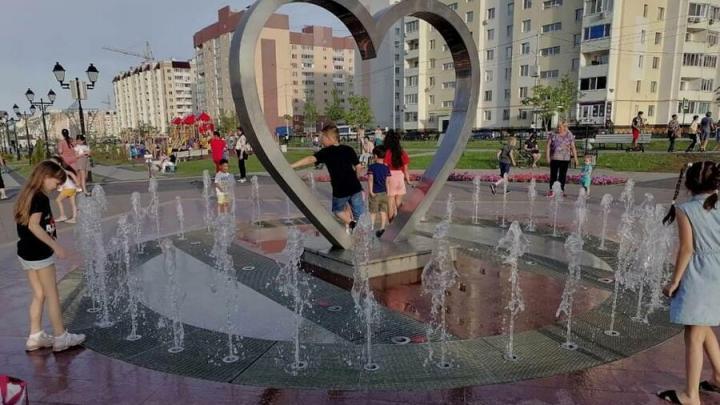 Саратовец добился починки фонтана-сердечка в Кировском районе