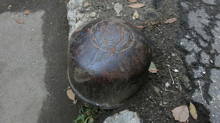 В Саратове украли последний уличный артефакт с гербом города
