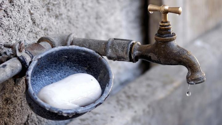 Отключение воды в Волжском районе