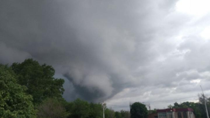 Ухудшение погоды в Саратове