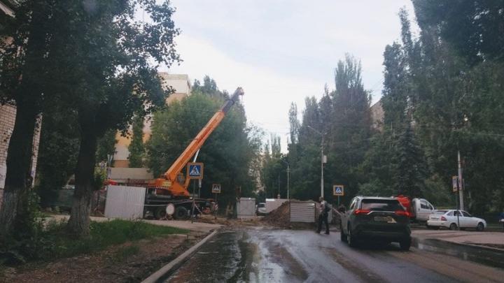 Восстановление саратовских дорог после работ коммунальщиков обойдется в миллион рублей