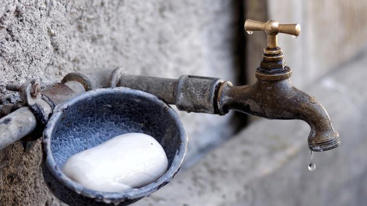 Отключение воды в Затоне