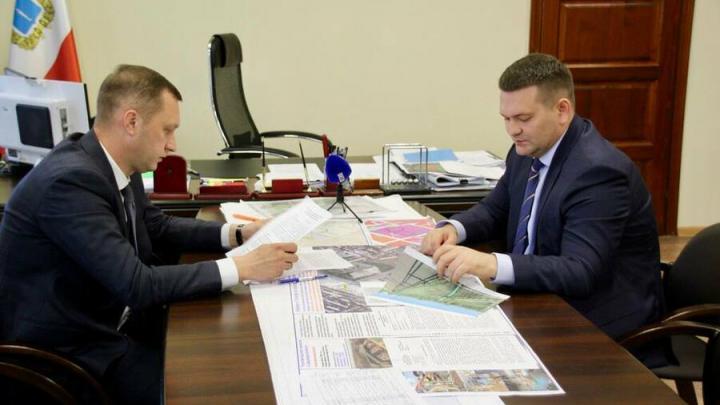 Депутат Андрей Воробьев обсудил с председателем правительства Романом Бусаргиным дорожную карту