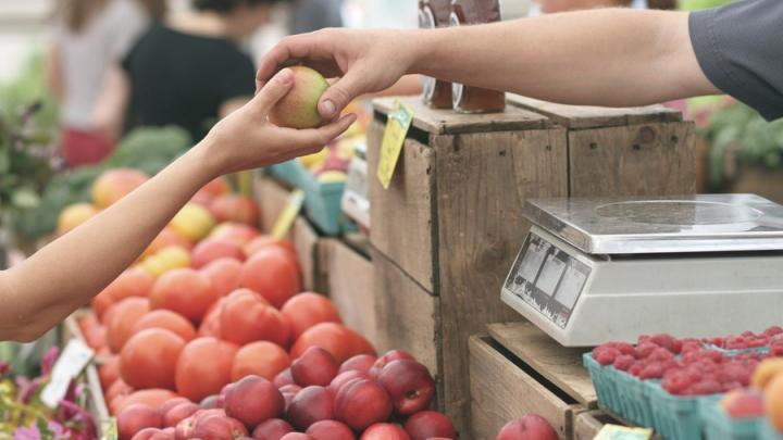 Цены на овощи и фрукты не изменились в Саратовской области, а молоко и мясо подешевели