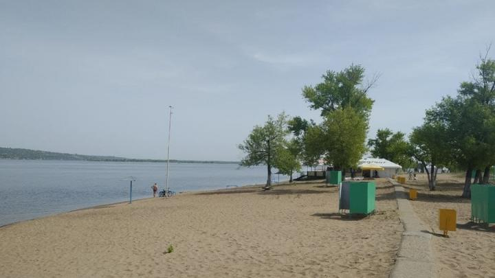 Пляж «Городские пески» открыт в Саратове
