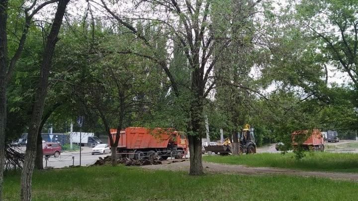 На улице Соколовой в Саратове отремонтируют тротуары