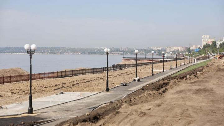 Новый саратовский пляж открывается 4 июля