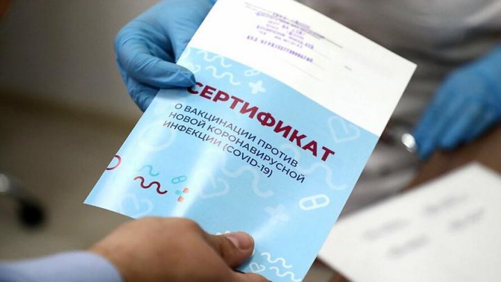 В России начали торговать поддельными сертификатами о вакцинации