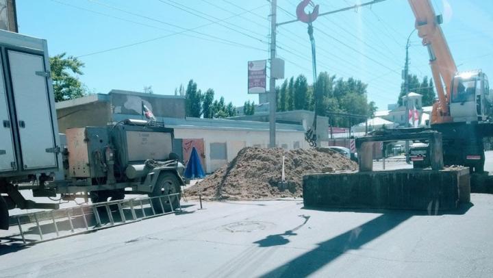 На трех улицах в Саратове перекроют движение