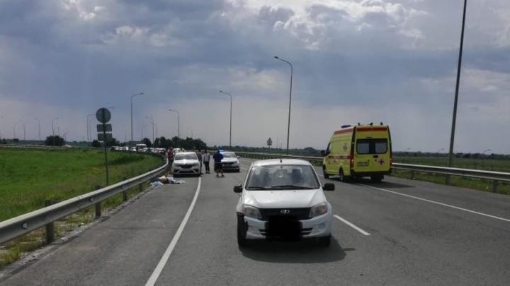 У аэропорта «Гагарин» насмерть сбили 54-летнего пешехода