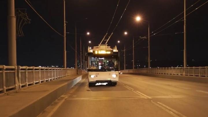 По мосту «Саратов-Энгельс» начал ходить 109-й троллейбус