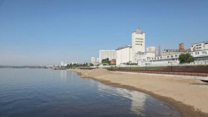 На новый саратовский пляж запретят ходить за два дня до открытия
