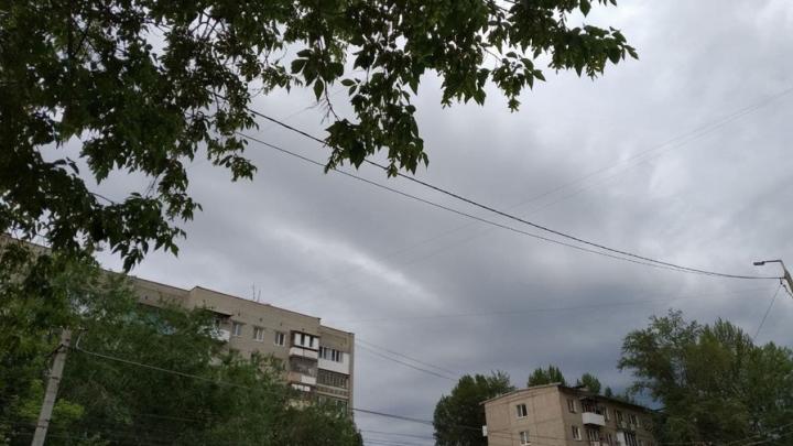 Грозовой фронт еще не покинул Саратовскую область