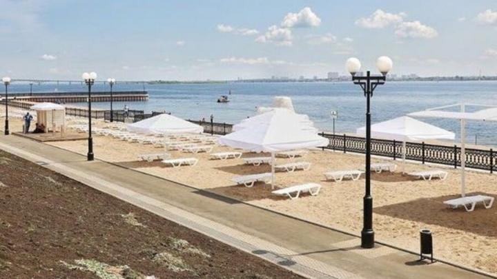 Новый пляж открылся в Саратове: программа первого дня