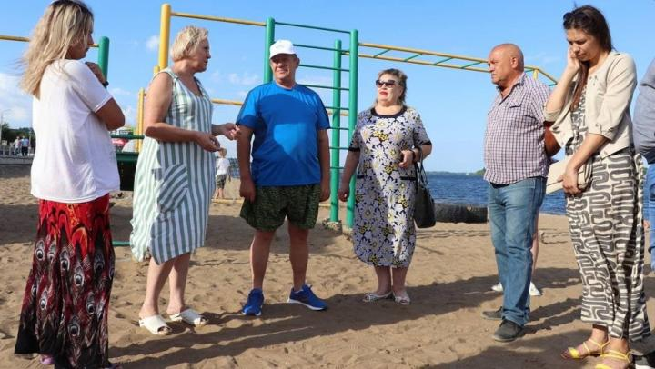 Панков: С жителями будем обсуждать проект благоустройства береговой линии в Затоне