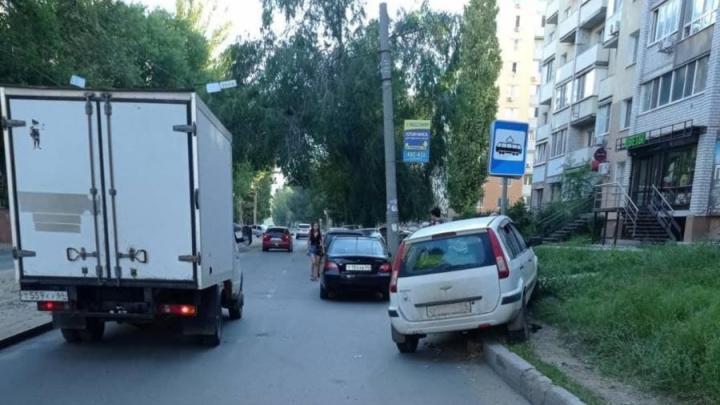 Трехлетний ребенок пострадал в аварии в Заводском районе